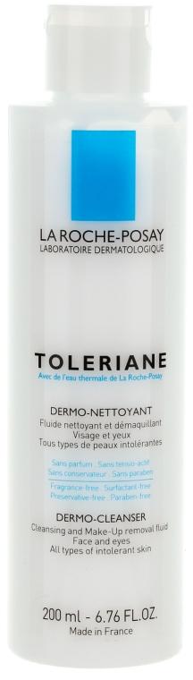 Mleczko do demakijażu twarzy i oczu - La Roche-Posay Toleriane Dermo-Cleanser — фото N3