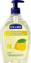Kup Kuchenne mydło w płynie Cytrus - On Line