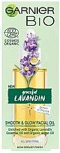 Kup Wygładzająco-rozświetlający olejek do twarzy Wdzięczna lawenda - Garnier Bio Lavandin
