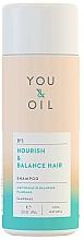 Kup Szampon do włosów Odżywienie i równowaga - You & Oil Nourish & Balance Hair Shampoo