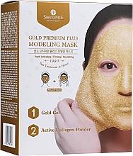 Kup Maska do twarzy w płachcie - Shangpree Gold Premium Modeling Mask (gel/50g + powder/4,5g)