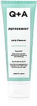 Kup Oczyszczający żel do mycia twarzy z miętą pieprzową - Q+A Peppermint Daily Cleanser