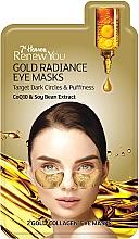 Kup Kolagenowe złote płatki pod oczy Koenzym Q10 i ekstrakt z soi - 7th Heaven Renew You Gold Radiance Eye Masks