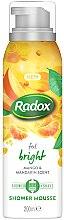 Kup Mus do mycia ciała i golenia Mango i mandarynka - Radox Feel Bright Mango & Mandarin Scent Shower Mousse