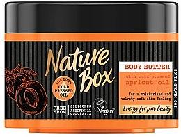 Kup Masło do ciała do skóry wrażliwej z zimnotłoczonym olejem morelowym - Nature Box Apricot Oil Body Butter