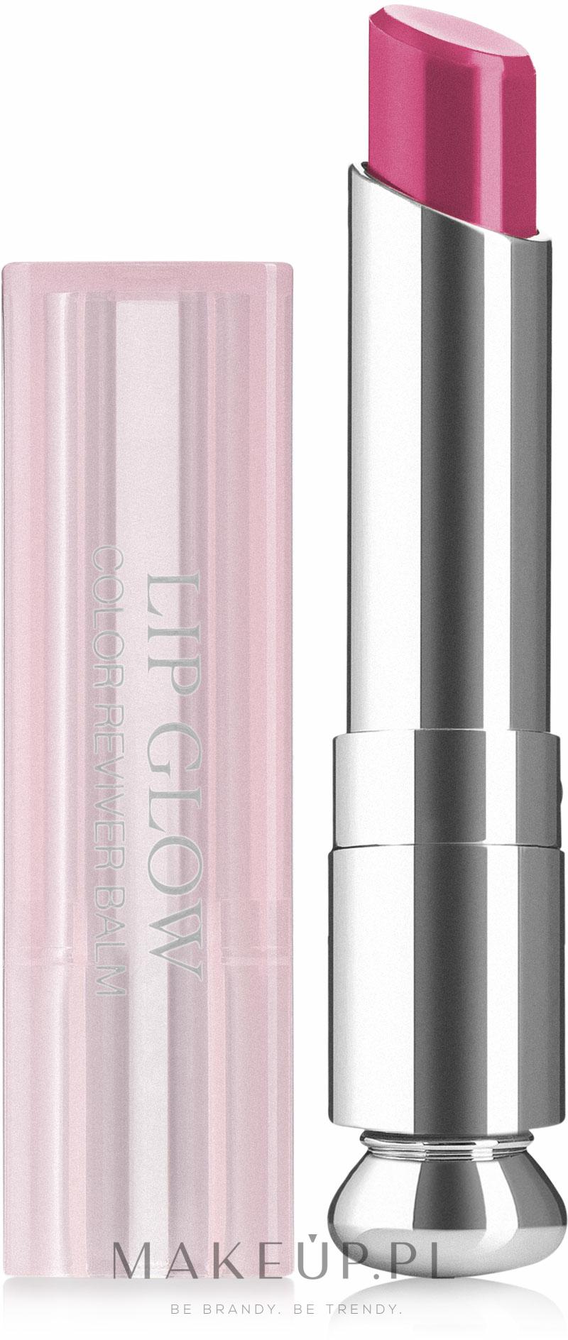 Nawilżający balsam do ust - Dior Addict Lip Glow — фото 007 - Raspberry