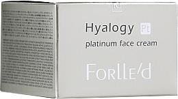 Kup PRZECENA! Antyoksydacyjny krem do twarzy z platyną - ForLLe'd Hyalogy Platinum Face Cream*