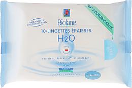 Kup PRZECENA! Chusteczki nawilżane dla dzieci - Biolane Baby H2O Napkins *