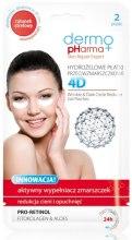 Kup Hydrożelowe płatki przeciwzmarszczkowe - Dermo Pharma 4D Wrinkle & Dark Circle Reducer Gel Patches