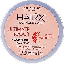 Kup Odżywcza maska do włosów zniszczonych i zmęczonych stylizacją - Oriflame HairX Ultimate Repair Nourishing Hair Mask