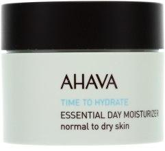 Kup Nawilżający krem do cery normalnej i suchej - Ahava Time To Hydrate Essential Day Moisturizer Normal to Dry Skin