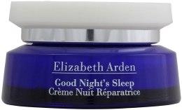 Odbudowujący krem do twarzy na noc - Elizabeth Arden Good Night`s Sleep Restoring Cream — фото N1