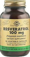 Kup Resweratrol, 100 mg - Solgar Resveratrol 100 mg
