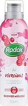 Kup Mus do mycia ciała i golenia - Radox Feel Vivacious Apple Blossom & Cranberry Shower Mousse