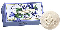 Kup Zestaw mydeł w kostce Fiołek - Saponificio Artigianale Fiorentino Violet (6 x soap 50 g)