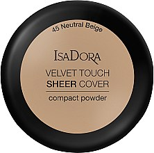 Kup Puder w kompakcie do twarzy - IsaDora Velvet Touch Sheer Cover Compact Powder