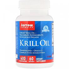 Kup PRZECENA! Olej z kryla w żelowych kapsułkach - Jarrow Formulas Krill Oil *