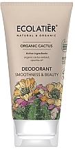 Kup Dezodorant Wygładzenie i piękno - Ecolatier Organic Cactus Deodorant