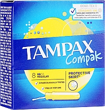 Kup Tampony z aplikatorem, 8 szt. - Tampax Compak Regular