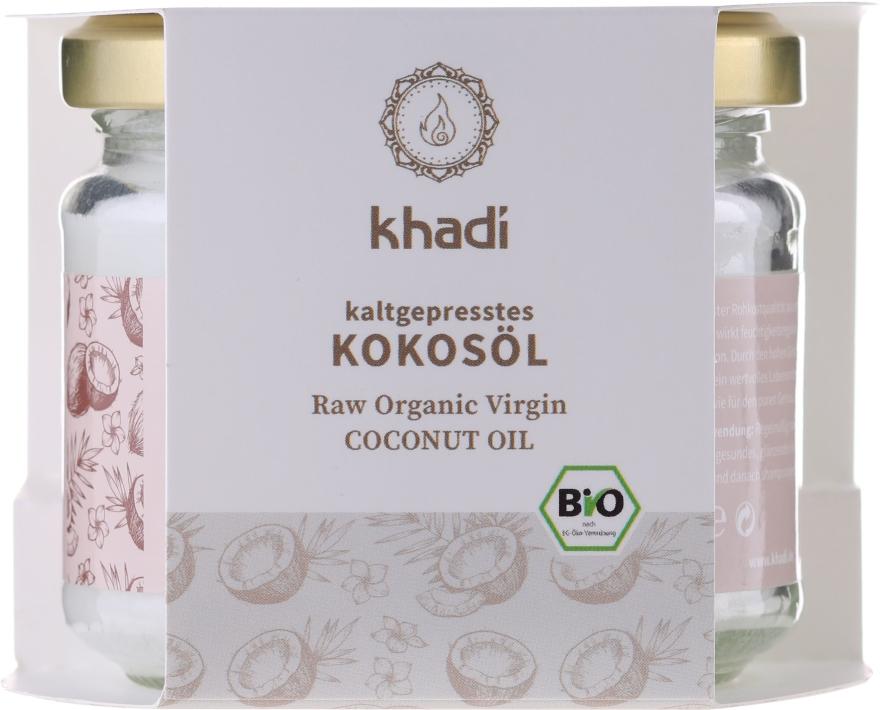 100% olej kokosowy - Khadi Coconut Oil — фото N1