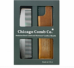Kup Zestaw - Chicago Comb Co CHICA-3-SET (comb/1pcs + case/1pcs)