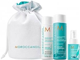 Kup Zestaw do włosów - Moroccanoil Color Complete (shmp 250 ml + cond 250 ml + spray 50 ml)