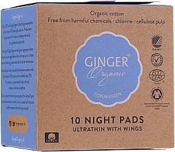 Kup Podpaski na noc, 10 szt. - Ginger Organic