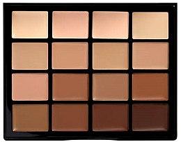Kup Paleta kremowych podkładów do twarzy - NYX Professional Makeup Pro Foundation Palette