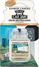Kup Zapach do samochodu - Yankee Candle Ultimate Car Jar Clean Cotton
