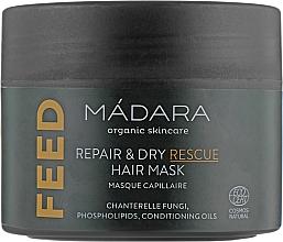 Kup Odżywcza maska do włosów - Madara Cosmetics Feed Repair & Dry Rescue Hair Mask