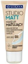 Kup Podkład make-up matujący - Soraya Podkłady Studio Matt Make-up Matting