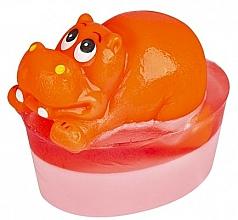 Kup Glicerynowe mydło z zabawką Hipopotam - Organique Soaps