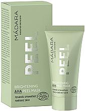 Kup Rozjaśniająca maska peelingująca z kwasami AHA - Madara Cosmetics Brightening AHA Peel Mask