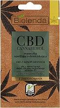 Kup Maseczka nawilżająco-detoksykująca do cery mieszanej i tłustej - Bielenda CBD Cannabidiol