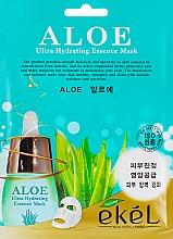 Kup Maska na tkaninie do twarzy z ekstraktem z aloesu - Ekel Aloe Ultra Hydrating Essence Mask