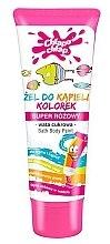 Kup Żel do kąpieli dla dzieci Kolorek, super różowy, wata cukrowa - Chlapu Chlap