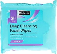 Kup Głęboko oczyszczające chusteczki nawilżane - Beauty Formulas Deep Cleansing Facial Wipes