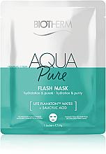 Kup Oczyszczająca maska w płachcie - Biotherm Aqua Pure Flash Mask