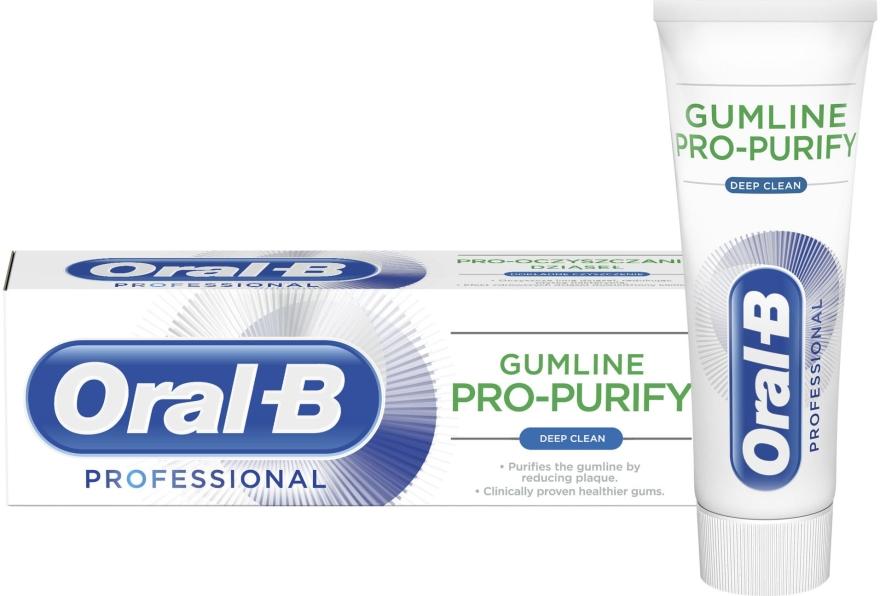 Pasta do zębów - Oral-B Professional Gumline Pro-Purify Deep Clean Toothpaste — фото N1