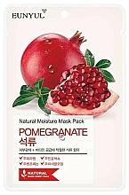 Kup Maska na tkaninie do twarzy z ekstraktem z granatu - Eunyul Natural Moisture Pomegranate Mask