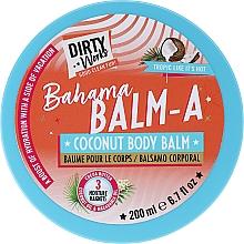 Kup Kokosowe masło do ciała - Dirty Works Bahama Balm-A Coconut Body Balm