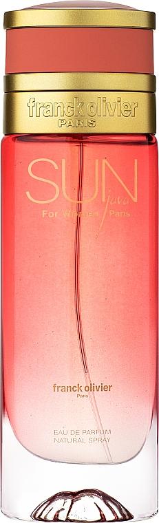 Franck Olivier Sun Java For Women - Woda perfumowana — фото N1