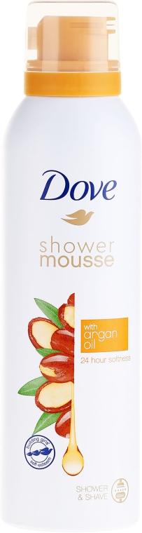 Pianka do mycia ciała z olejem arganowym - Dove Argan Oil Shower Mousse