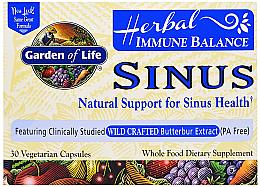 Kup Suplement diety wspomagający zatoki, kapsułki - Garden of Life Immune Balance Sinus