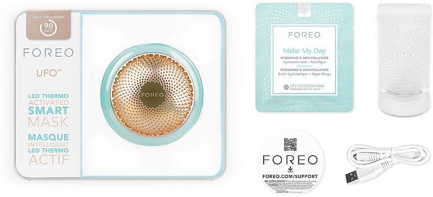 Urządzenie do nakładania maseczki na twarz - Foreo UFO Smart Mask Treatment Device Mint — фото N3