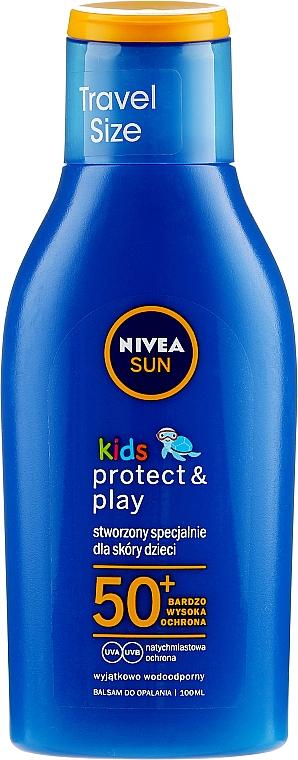 Przeciwsłoneczny balsam dla dzieci SPF 50 - Nivea Sun Care Kids Lotion — фото N3