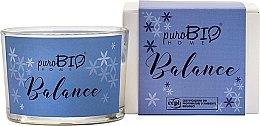 Kup Ekologiczna świeca zapachowa - PuroBio Cosmetics Home Organic Balance