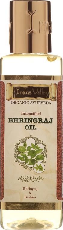 Ziołowy olej Bhringraj - Indus Valley Bio Organic Ayurveda Bhringraj Oil — фото N1