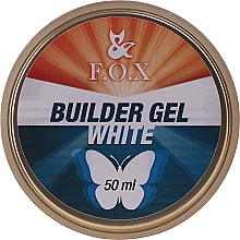 Kup Budujący żel do paznokci, biały - F.O.X Builder White Gel