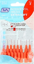 Kup Szczoteczki międzyzębowe,czerwone 0,5 mm - TePe Interdental Brushes Extra Soft